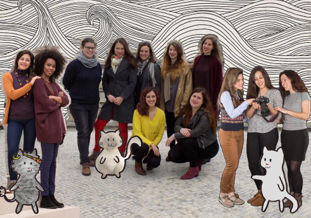 Equipa da REDE de Jovens para a Igualdade